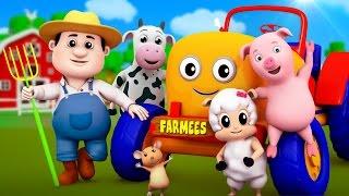 Farmer In The Dell | Nursery Rhymes Farmees | Children Songs | Baby Rhymes