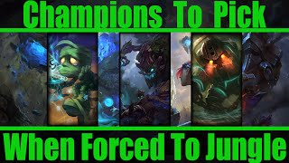 What Champion To Pick When Forced To / Jungle