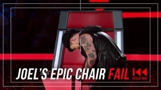 Joel Madden's Chair Fail | The Voice Australia 2014