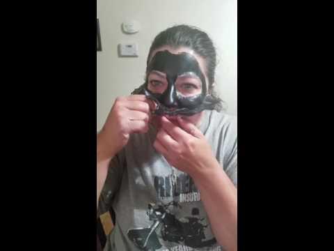 Charcoal blackhead mask FAIL --- Funniest video EVER!