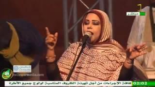 الفنانة ابتي بنت انكذي .. عزيز.. مانك ماشي محال - مهرجان ملح