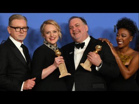 Xxx Mp4 Golden Globes 2018 Elisabeth Moss Nicole Kidman Win Early Trophies 3gp Sex