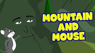 Mountain And Mouse - English Stories For Kids | Moral Stories In English | Short Story In English