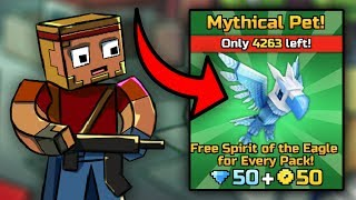 *NEW* Free Mythical Pet! [Spirit of the Eagle]- Pixel Gun 3D