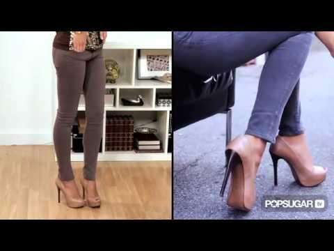 How to Wear Jean Leggings