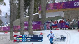 Men's 15km cross-country skiing sitting  | Sochi 2014 Paralympic Winter Games