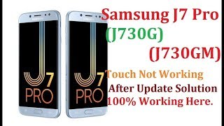How to Fix Touch Not Work After Update Android OREO Samsung J7 Pro (J730GM)(J730G)