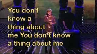 Kelly Clarkson Mr. Know It All with Lyrics