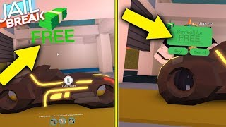 HOW TO GET THE VOLT BIKE FOR FREE IN JAILBREAK! (Roblox)