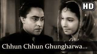 Chhun Chhun Ghungharwa - Mahal (1949) Songs - Ashok Kumar - Sheela Naik - Old Hindi Classic Song