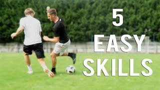 5 EASY SKILLS TO USE AS A WINGBACK/FULLBACK!