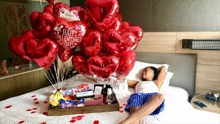 WOW! Surprising My Girlfriend for Valentines Day went like this.. Pt.1