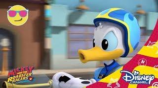 Мики и приятели състезатели - Доналд Дък. Само по Дисни Чанъл!