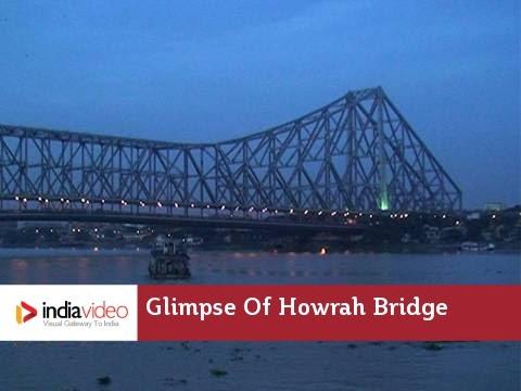 Glimpse Of Howrah Bridge -  Kolkata West Bengal | India Video