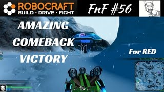 FnF #56 - AMAZING COMEBACK VICTORY . . . for Red.