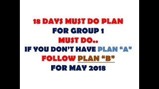 18 DAYS PLAN TO CLEAR CA IPCC EXAM MAY 2018 MUST DO BEFORE EXAM