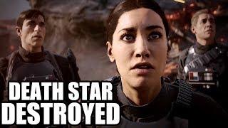 STAR WARS BATTLEFRONT 2 - Death Star Destroyed / Battle of Endor