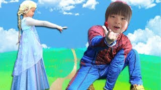 Spiderman Kids SuperHeroes Popular Videos ??????? VS ??????? ??? VS ??????????? ???? ???????