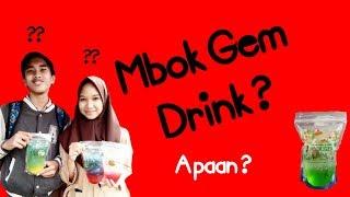 Minuman mocktail pertama di tangerang selatan @mbok_gemdrink