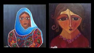 Paintings By Malak Mattar With Dawn For Flute By Eitan Altman