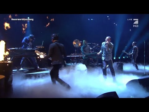 Linkin Park Performs Burn It Down at TV total Autoball EM Germany 2012