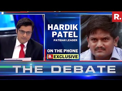 Xxx Mp4 Hardik Patel Speaks Exclusively To Arnab Goswami 3gp Sex