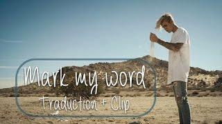 Justin Bieber - Mark my words 'Traductin française + Clip'