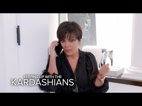 KUWTK Kris Jenner Receives Emergency Call From Kendall E