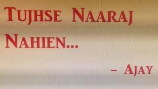 Tujhse Naaraj Nahien