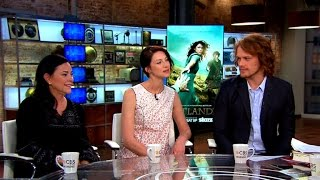 """""""Outlander"""" author and actors on transition from books to TV series"""