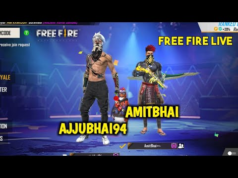 Free Fire Live New Event with Ajjubhai94 Total Gaming Garena Free Fire