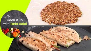Cook It Up With Tarla Dalal - Ep 11 - Granola Bars, Sunken Submarines and Stuffed Chapati Rolls