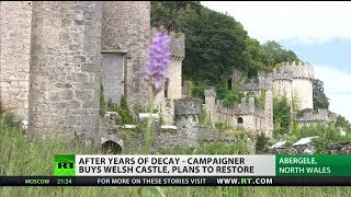 After years of decay - campaigner buys Welsh castle, plans to restore