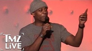 Dave Chappelle Heckled by Donald Trump Supporter I TMZ Live