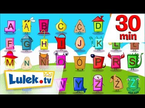 Literki liczby i pierwsze słowa I piosenki i filmy dla dzieci I 30 z Lulek.tv