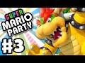 Super Mario Party - Gameplay Walkthrough Part 3 - Bowser in Megafruit Paradise! (Nintendo Switch)
