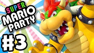 Super Mario Party - Gameplay Walkthrough Part 3 - Bowser in Megafruit Paradise! (Nintendo Switch)
