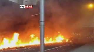 Helicopter Crash In London: Two Dead