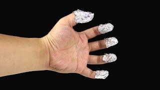 4 Awesome Aluminium Foil Life Hacks
