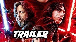 Star Wars The Last Jedi Trailer - Luke Skywalker Lightsaber Explained