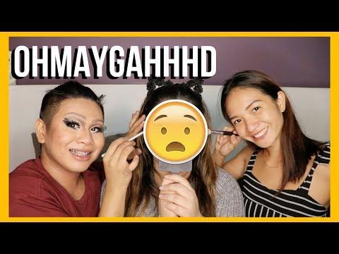 Xxx Mp4 RONAN DOMINGO And ANGEL DEI Do My Makeup Sino Bet Niyo Hihi Teena Arches 3gp Sex