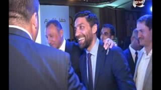 كابتن اسلام الشاطر في  حفل تكريم حسن حمدي رئيس النادي الأهلي السابق