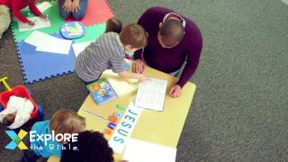 How to Use Explore the Bible: Kids for Preschool