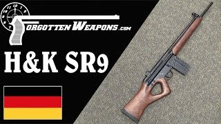 H&K Quality Meets the Thumbhole Stock: The SR-9