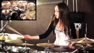 ALL THAT REMAINS - TWO WEEKS - DRUM COVER BY MEYTAL COHEN