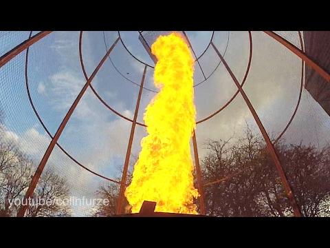 20ft Fire Tornado Firework Launcher
