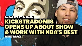 Kickstradomis Opens Up About New Show & Work with Some of the NBA