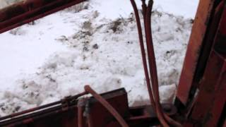 Clearing November Storm on Buffalo Southern Railroad