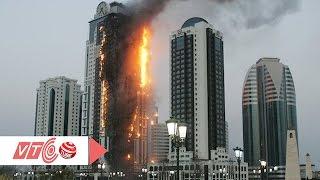 Cháy cao ốc, hàng trăm hộ dân hoảng loạn | VTC