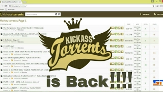 How to access blocked Kickass torrents 2017.